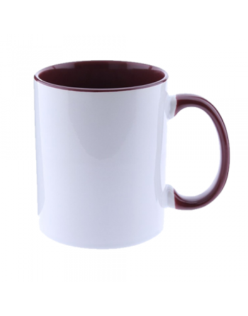 Taza personalizable granate